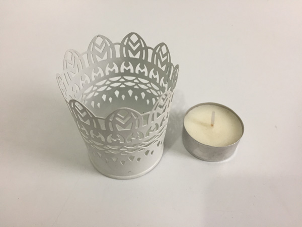 20pcs Lot D5 5 H6 5cm Metal Wedding Candle Holders Small Iron Cylinder White Tea Light Holder Sf 011 In From Home Garden On