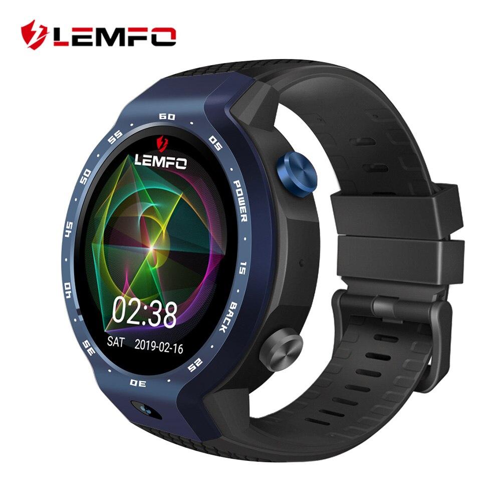 LEMFO LEM9 sistemas duales 4G inteligente reloj Android 7,1 de 1,39 pulgadas 454*454 pantalla 5MP cámara frontal 600 mah batería de la batería inteligente preventa
