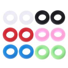 Glasses Ear Hooks Round Anti Slip Silicone Grips Eyeglasses Sports Temple Tips(China)