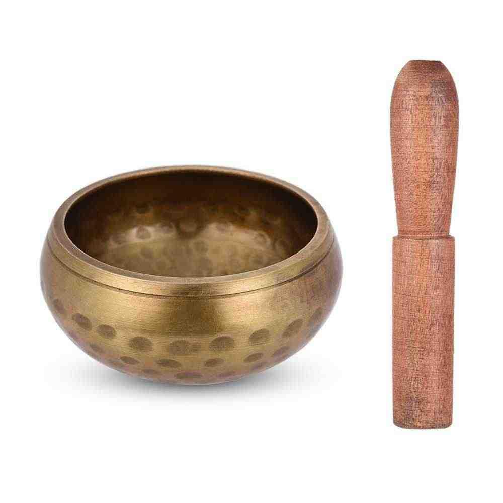 Ammoon Handmade Tibet Bell Logam Bernyanyi Mangkuk untuk Buddhisme Buddha Doa Meditasi Yoga Penyembuhan Relaksasi