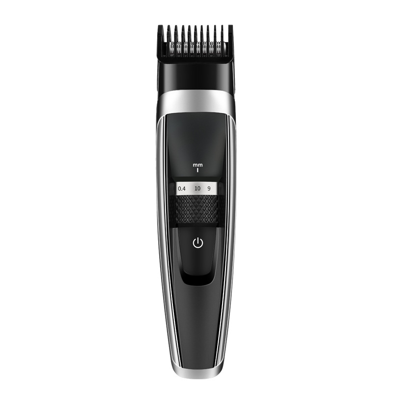Professional Hair Clipper Low Noise Rechargeable Hair Trimmer With High Quality Titanium Ceramic Blade Waterproof And Portable|Hair Clippers| |  - title=