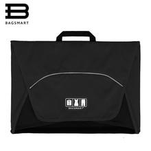 """BAGSMART 17 """"одежды папку против морщин 1-5 шт. футболки Галстуки Упаковка Организатор Сумки дорожную сумку, чтобы Пакет Тавель Чемодан чемодан"""