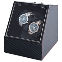 Automatic Watch Winder Auto Silent Watch Winder Irregular Shape Transparent Cover Wristwatch Box With US Plug