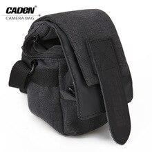 CADeN Professional SLR Bag Canvas Camera Bag/Case Travel Photo Bag for Canon Nikon Shoulder Strap Bag Case For DSLR Cameras