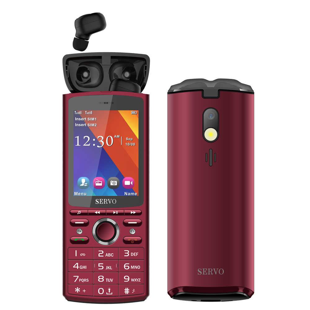 """SERVO R25 2.8 """"Dual Sim 6000mAh Công Suất Ngân Hàng điện thoại Di Động với Bluetooth 5.0 TWS Không Dây Tai Nghe Nhạc loa Điện Thoại Di Động"""