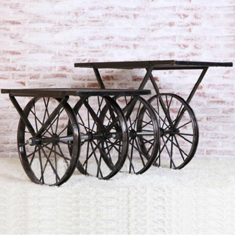 Vintage Casual Coffee Tables: To OEM Casual Creative Fashion To Do The Old Wrought Iron