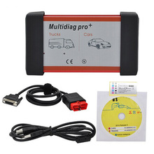 2014.R2 Or 2015.R3 Free Keygen New Design Multidiag Pro+ for Cars/Trucks and OBD2 NO/With Bluetooth Free Shipping