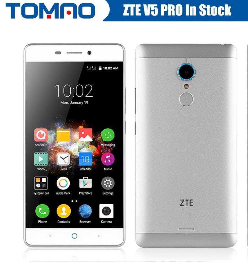 bilder für Zte v5 pro zte n939sc 5,5 zoll octa-core android 5.1 mobile telefon 2 GB RAM 16 GB ROM 4G FDD LTE 13.0MP FHD 1080 P Fingerabdruck