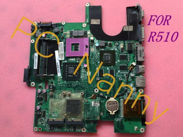 MAINBOARD DA0QL8MB8E0 MOTHERBOARD FOR LG R510 NOTEBOOK LAPTOP INTEL PM45 DDR2 + Free CPU Fully working Grade A