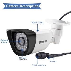 Image 5 - Smar HD H.265 1080P Camera IP 20FPS Ngoài Trời Chống Nước Đường Camera An Ninh 30 Chiếc Đèn LED Hồng Ngoại 15 25M XMEYE P2P Giá Rẻ ONVIF Nhựa