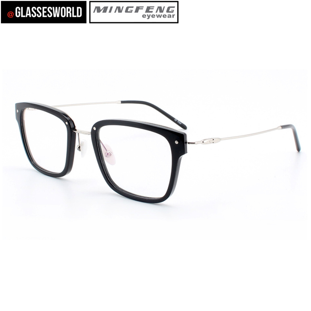 16b674bf5bf7 New style eyeglasses frames acetate optical frames with metal reading  glasses 86087