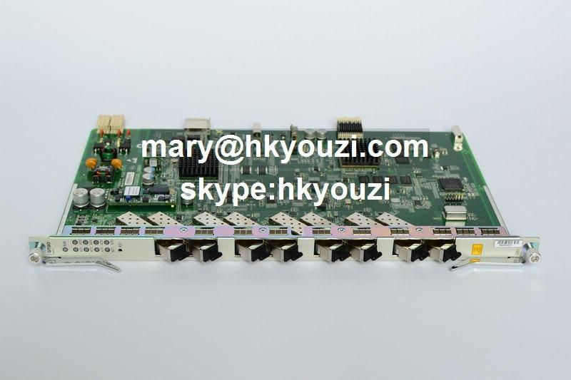 GTGOG C ++, 8 portos GPON OLT vonalkártya GTGOG (8 db GPON-OLT - Kommunikációs berendezések - Fénykép 5