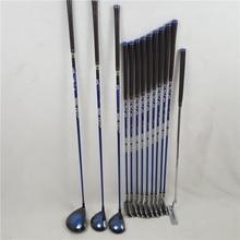 Женский гольф-клуб полный набор MP1000 клюшек для гольфа набор + Фарватер + утюги для гольфа + клюшка 13 шт. без Гольф Сумка графит вал