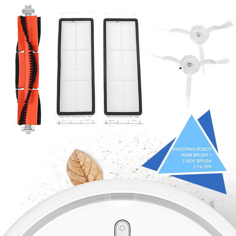 Боковая щетка + фильтр + основная щетка для XIAOMI вакуумная Замена 5 шт. Rolling Bush