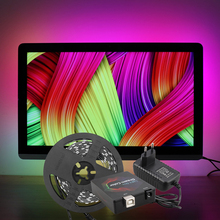 Long-Lasting Colorful LED Strip Light Kit for TV Box