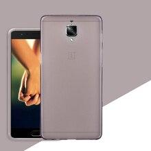2 pcs caixa do silicone para oneplus 3 t 3 t/oneplus threet/a3010 tela caso protetor de telefone tampa traseira caso protetor acessórios