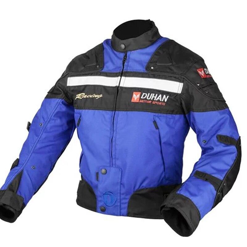 Une vente DUHAN hiver Moto veste Moto costume vêtements de protection - 5