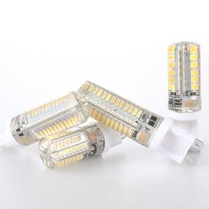 G9 Светодиодная лампа 7 Вт 9 Вт 10 Вт 11 Вт кукурузная лампа AC 220 В SMD 2835 3014 48 64 96 104 светодиодов лампада Светодиодная лампа 360 градусов замена галог...