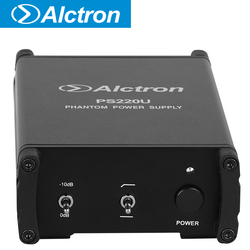 Alctron PS220U USB 48V phantom power provides stable and enough power to the devices