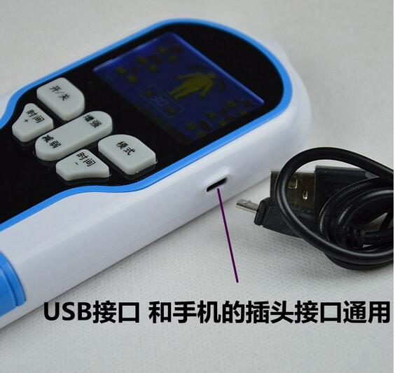 Home Electric Massage Multi Functional Body Acupuncture Points Mini Digital Meridian Instrument Tool Health Electronic prostate massage sub health improvement natural electric instrument electronic muscle stimulation machine for sale