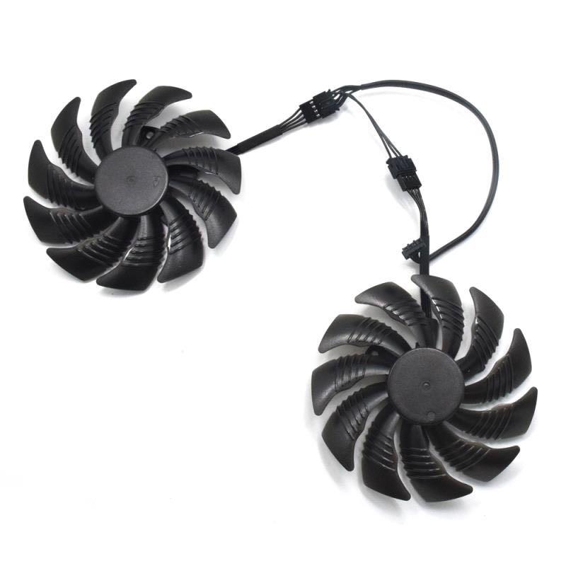 100% nuevo T129215SU 88mm ventilador reemplazar para Gigabyte GTX 1050 1050TI 1060 1070 1070TI G1 P106-100 Radeon RX 570 580 470 ventilador