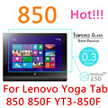 """850F 9H 0.3mm 2.5D Explosion-Proof Tempered Glass For Lenovo Yoga Tab 3 850 850F YT3-850F 8"""" Toughened Film Screen Protect Cover"""