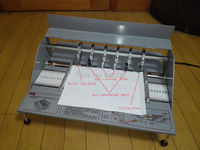 18 460mm Electric Book Cover Creasing Machine Creaser Scorer Perforator, Paper Dotted Line Cutting Machine 110V / 220V