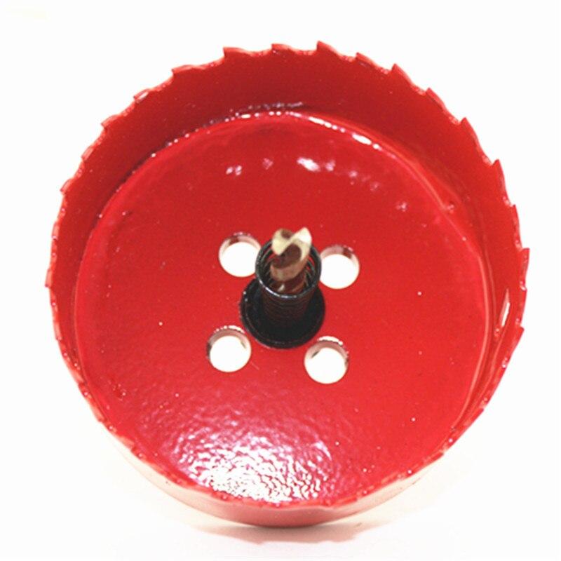 50-200mm Bi-Metal Hole Saw Cutter Wood Hole saw Drill Tooth Kit Core Drill Bit все цены