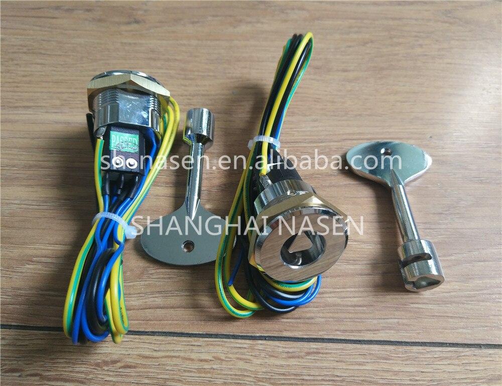 OT keyswitch with triangle keyOT keyswitch with triangle key