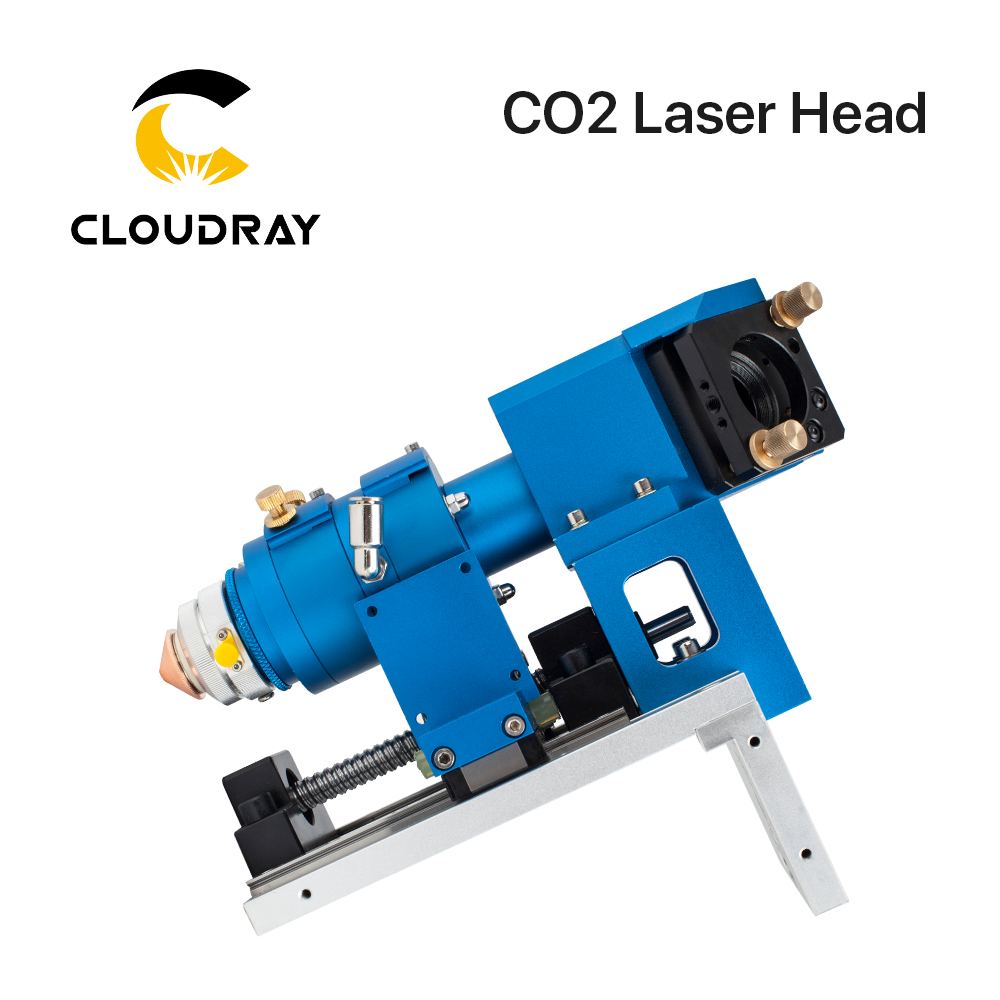 Cloudray 500W CO2 Laser Cutting Head Metal and Non-metal Mixed Cut head for Laser Cutting Machine LASER HEAD laser head krell evo 505 cd sacd
