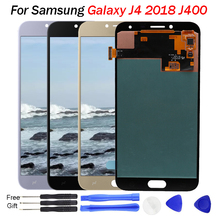 Super Amoled J400 LCD For Samsung Galaxy J4 J400 J400F J400G/DS SM-J400F LCD Display Touch Screen Digitizer Assembly J4 LCD J400 смартфон samsung galaxy j4 2018 j400 32gb черный