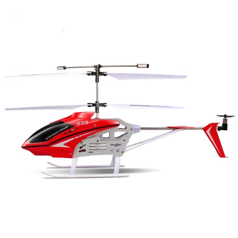 Frete Grátis fresco 3CH S39 1 2.4g RC Helicóptero com GYRO Luz Colorida Piscando Anti Choque Eletrônico RC crianças & Brinquedos do bebê - 5