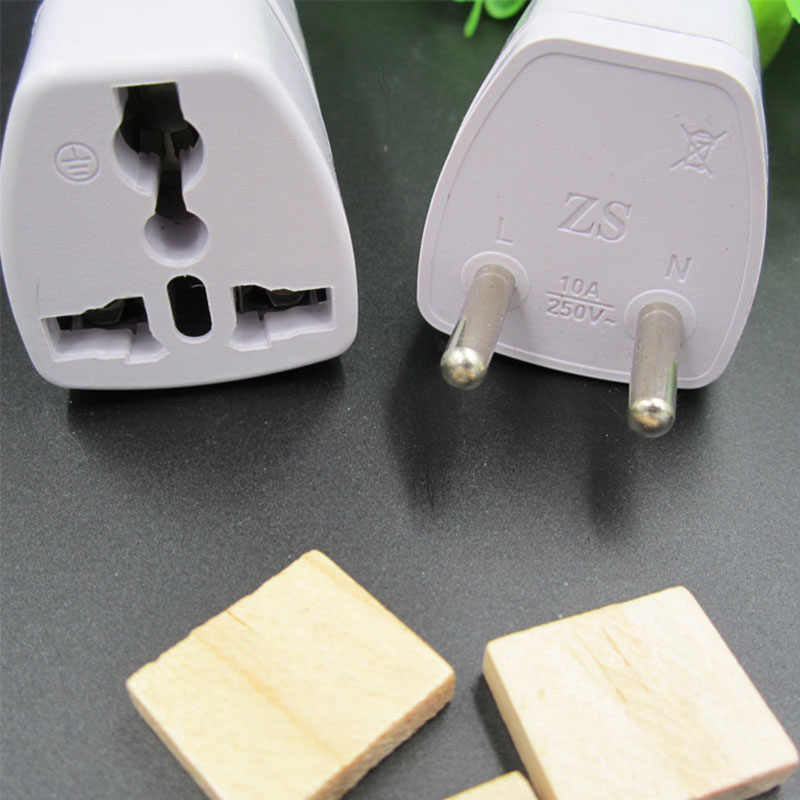 1 шт. универсальное мировое зарядное устройство ЕС вилка все-в-одном Путешествия AC адаптер питания Европейский стандарт Конвертер розетка для стены ЕС