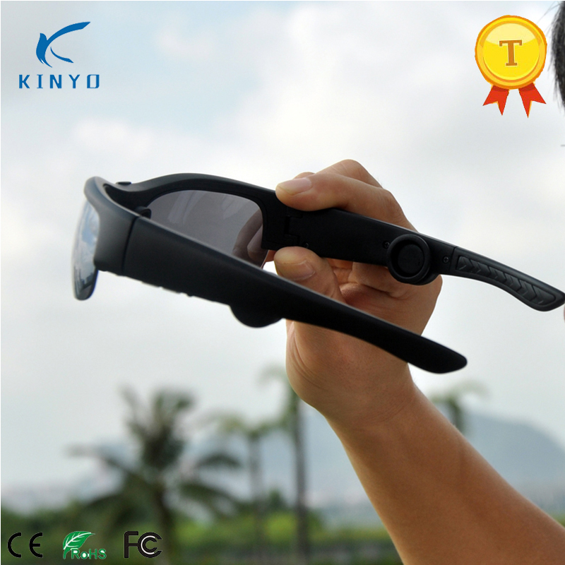 2018 Original Smart Sunglasses Bluetooth Bone Conduction Headset Smart Glasses Health Sports Wireless Headphones and Microphone