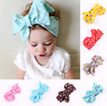 Hot 2016 Cute Kids Baby Girl Toddler Dot Bow Headband Hair Band Headwear Accessories AU