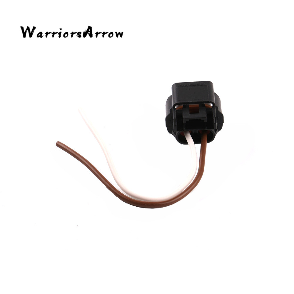 small resolution of warriorsarrow 2 pin plug connector wiring harness socket for vw cc eos jetta golf mk6 passat tiguan touareg fabia 7h0941165 in cables adapters sockets