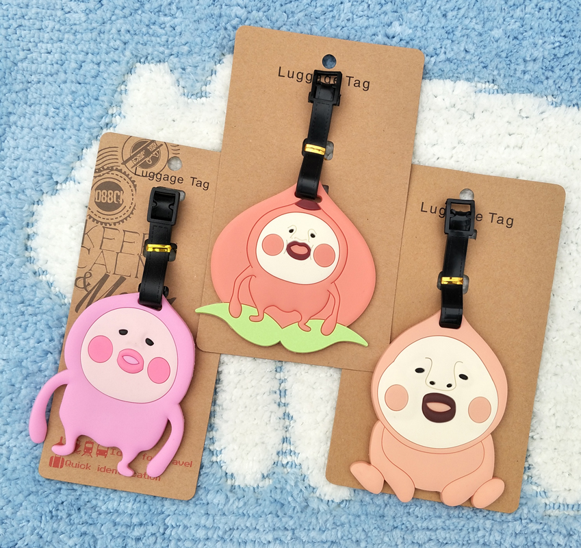 Figures Decorative-Suitcase Action Anime Cartoon Cute Toy Ornaments-Tags Luggage Gifts