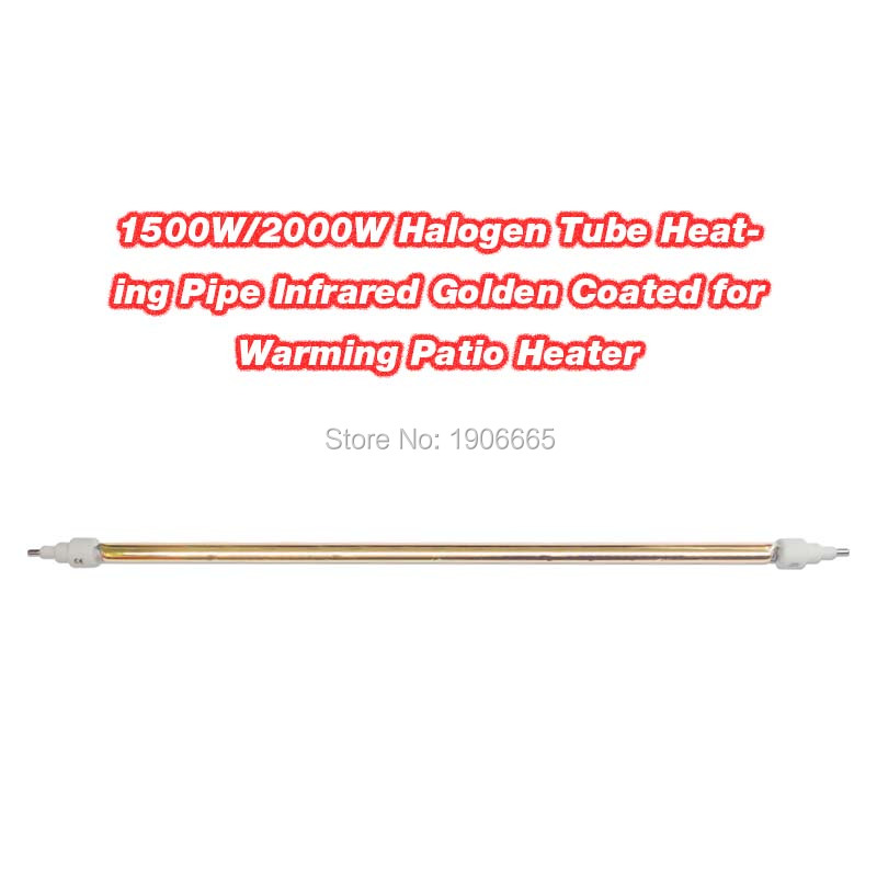Infrared Heating Element Gold Coated Halogen Heater Tube 2000W optional electric heater parts 220V толстовка element smith zh gold brown