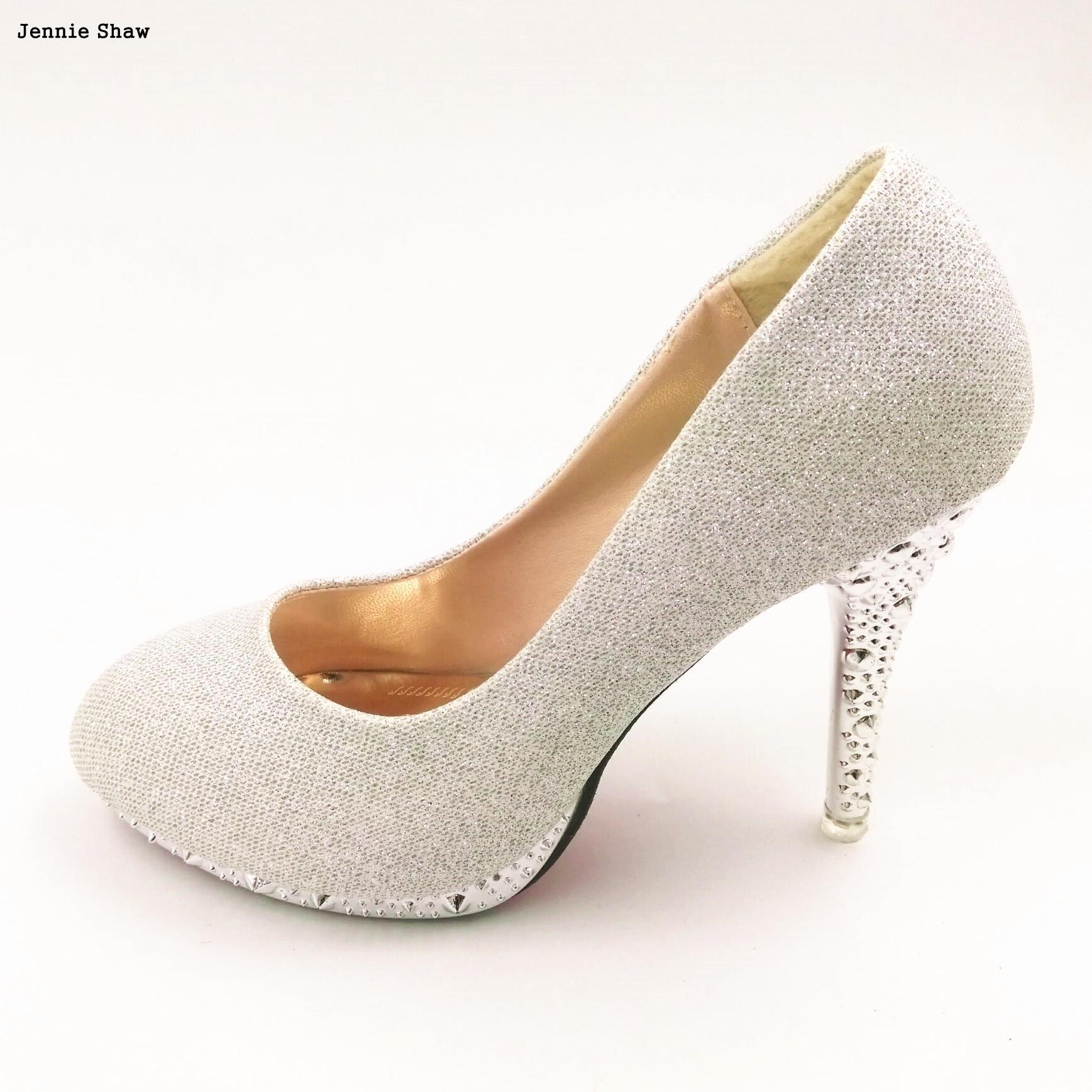 b34c4608930 gold high heels green white wedding shoes red bridal shoes Pumps ...