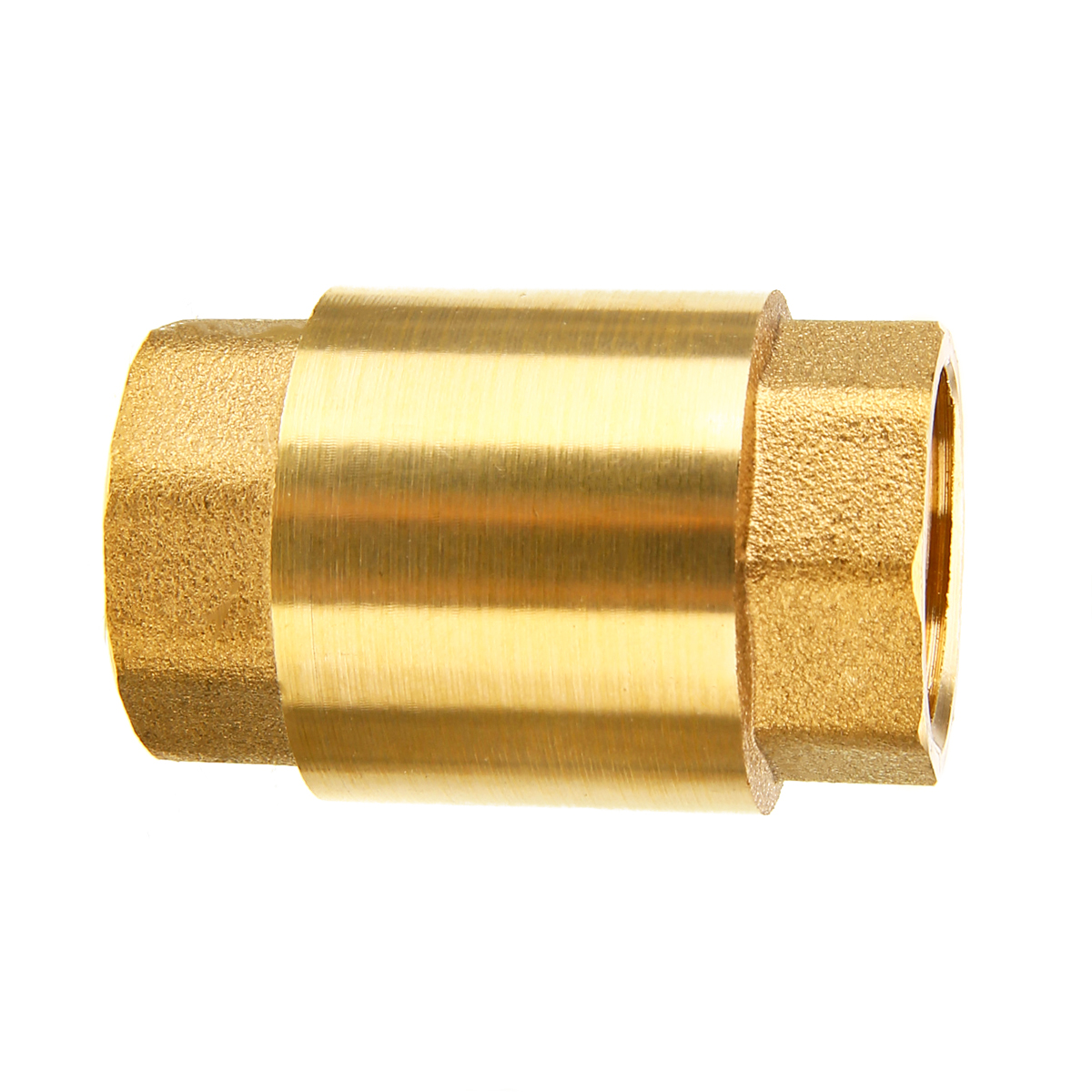 1pc 1 2 npt brass check valve high quality thread in line [ 1200 x 1200 Pixel ]