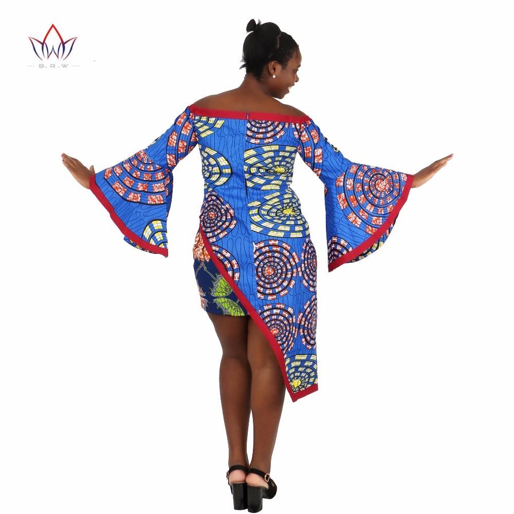 BRW Vêtements africains 2 Pièce Ensemble Femmes Robe Costume Crop - Vêtements nationaux - Photo 5