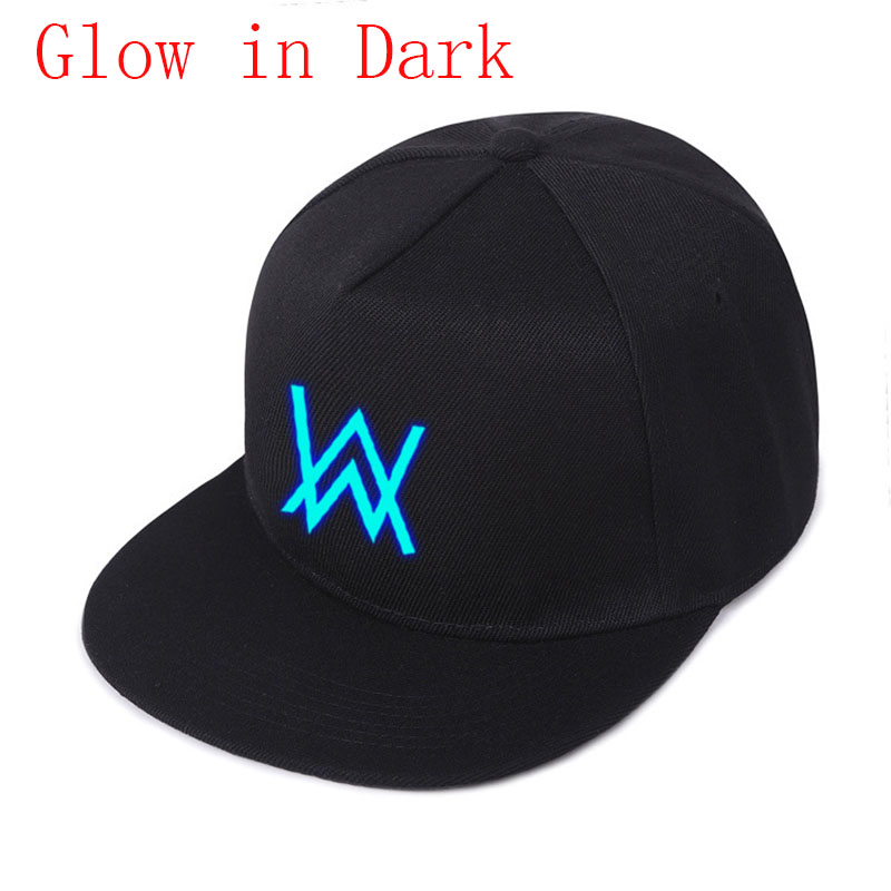 Adjustable Glow In Dark Alan Walker Faded Kids Hats