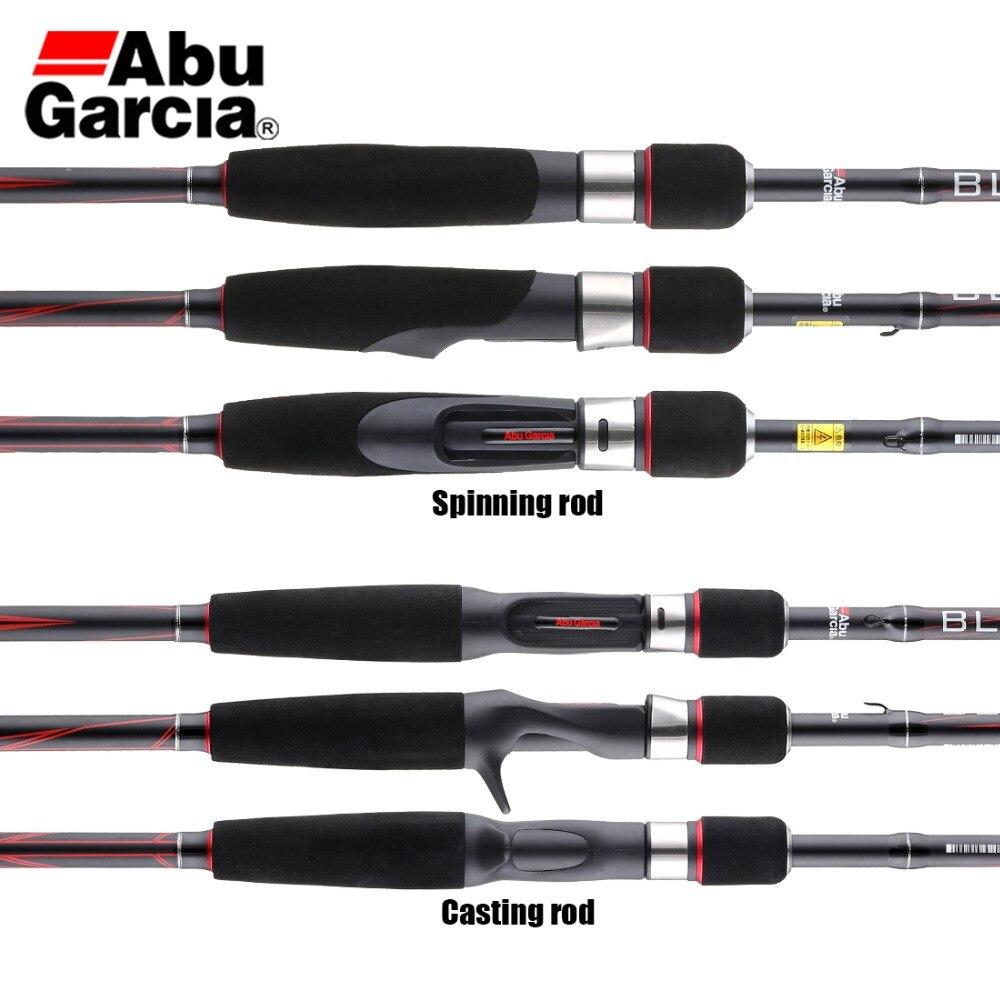 Abu Garcia Black Max BMAX Baitcasting Fishing Rod 1.98m, 2.13m, 2.44m, M Power  2