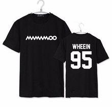 T-shirt unisexe ALLKPOPER MAMAMOO [Hello], Tee-shirt Kpop weein MOONBYUL HWASA SOLAR