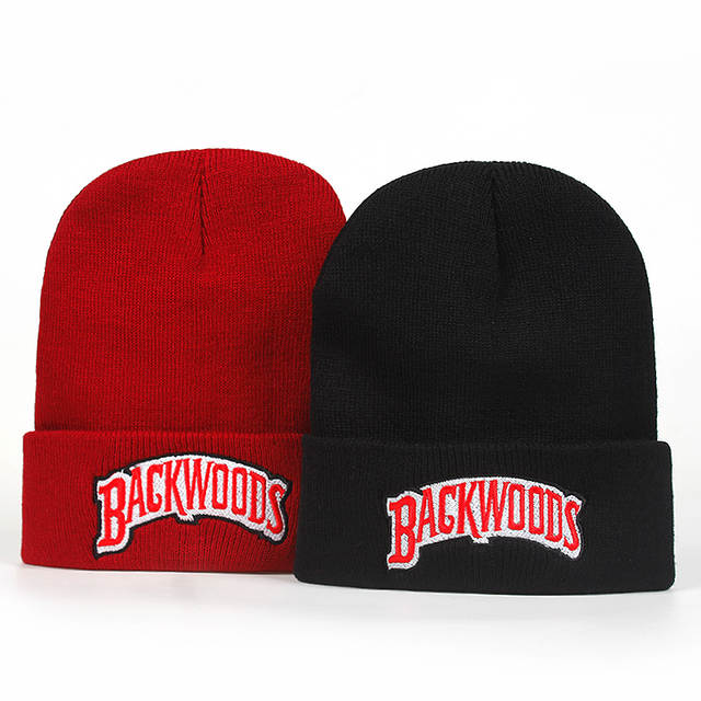 003644fa new Beanie Brand backwoods Letter Knitted winter hat Cotton Men Women  Fashion Knitted Winter Hat Hip hop Skullies Hats-in Skullies & Beanies from  Apparel ...