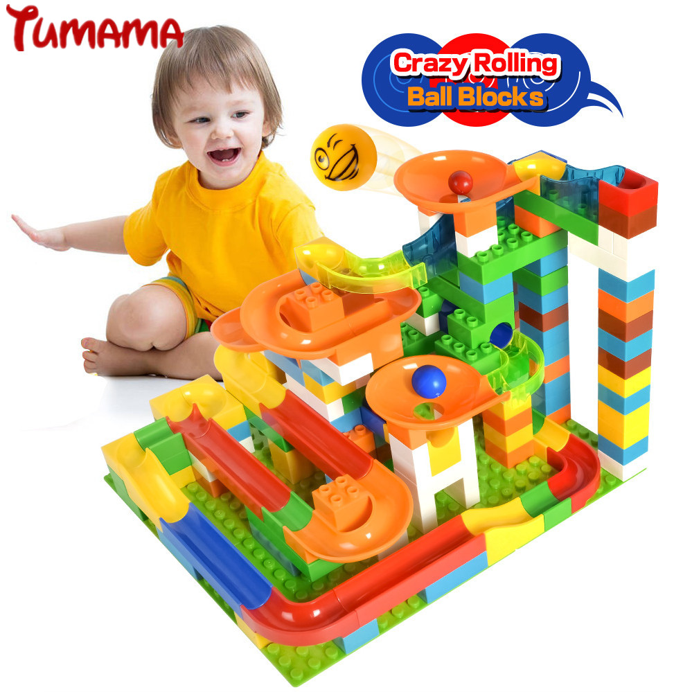 Blocos tumama 47 123 pcs mármore Sutiable : Kids Toys, Children Toy