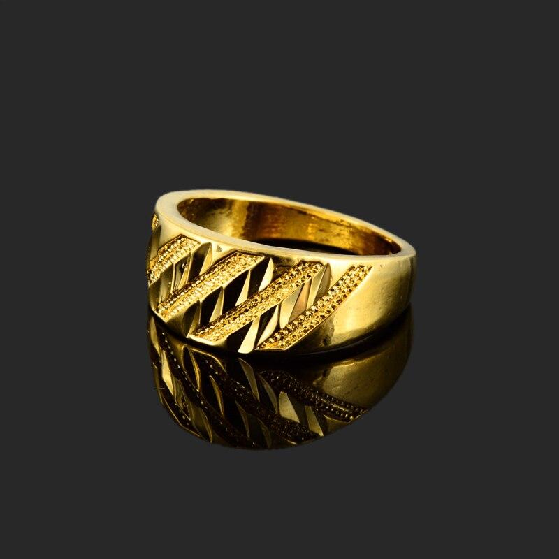 2017 Elegant Design Gold Colou Simple Rings For Girls Trendy Daily ...