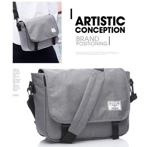 Image 5 - TUGUAN Men Messenger Bags Mens Fashion Business Travel Shoulder Bags female Canvas Briefcase Men Crossbody Bag Handbag XB1701T