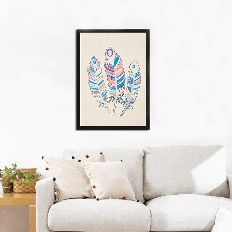 ≧Dctop plumas carteles y grabados lienzo cuadros de pared para sala ...