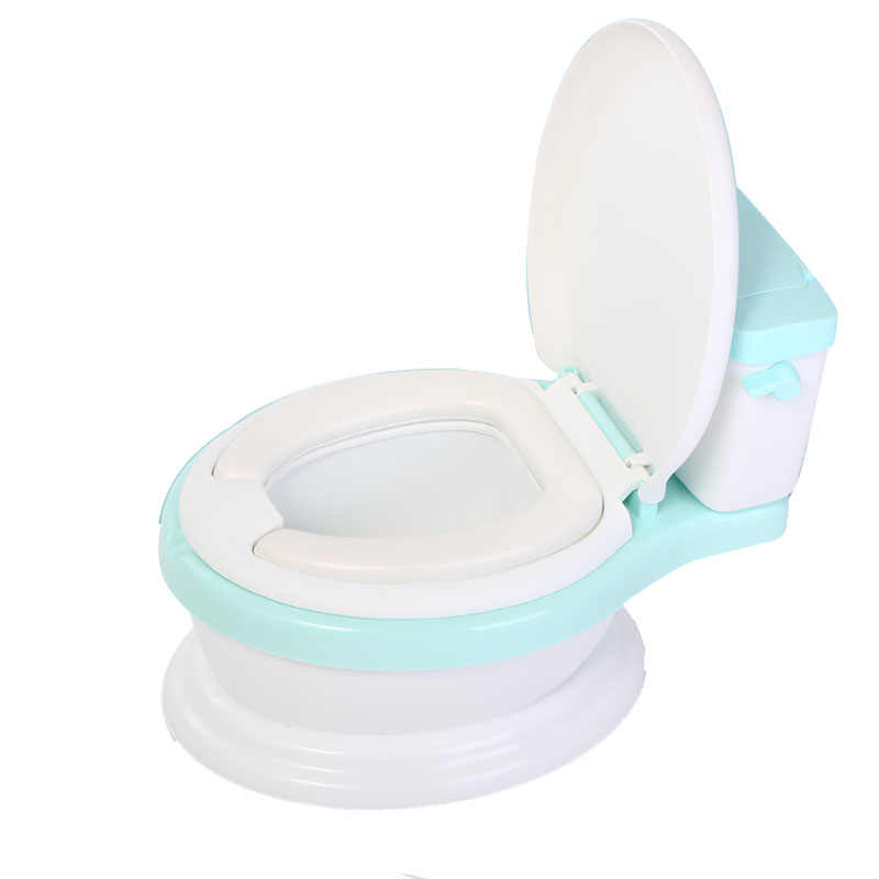 2018 Baby Potty Toilet Training Seat Portable Plastic Child Potty Trainer Kids Indoor WC Baby Potty Chair Plastic Children's Pot kids child baby potty toilet seat mat baby potty training chair portable travel toilet 1 piece